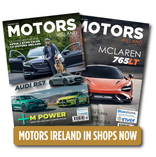 Motors Ireland in shops